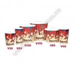 Стакан бумажный для попкорна V24 (0,8л), International Paper